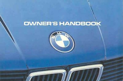 1983 BMW 318i Owner's Manual fo192-SPY8XW
