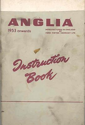 1957 Ford of England Anglia Owner's Manual fo429-S7ECQ9
