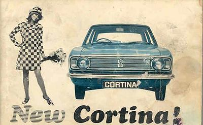 1967 Ford of England Cortina Owner's Handbook fo445-W3YSZK