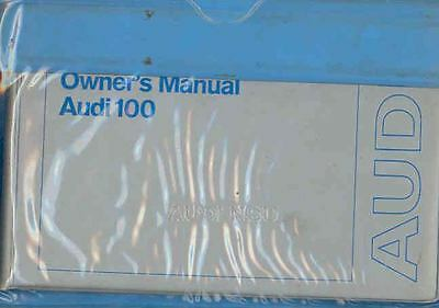 1974 Audi 100 LS Owner's Manual and Pouch fo570-5TOIOH