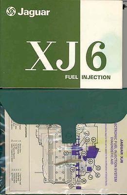 1978 Jaguar XJ6 Owner's Manual and Pouch fo765-9KO9TP