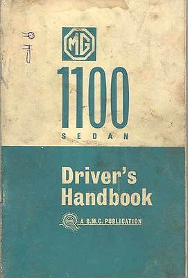 1965 MG 1100 Owner's Manual fo846-NXIX4U