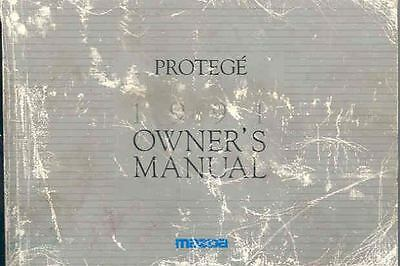 1991 Mazda Protege Owner's Manual fo948-HQQLMS