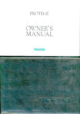 1993 Mazda Protege Owner's Manual and Pouch fo965-EB82UR
