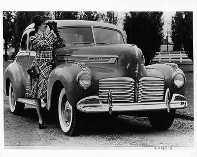 1941 Hudson Commodore Eight Factory Photo ad4732-NYLKCC