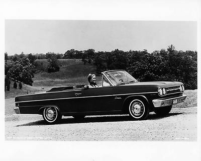 1965 AMC Rambler Classic Convertible Factory Photo ad5989-AKQVJH