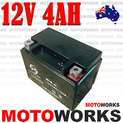 12V 4AH Battery 50cc 70cc 90cc 110cc 125cc 150cc ATV QUAD Bike Gokart Buggy Dirt