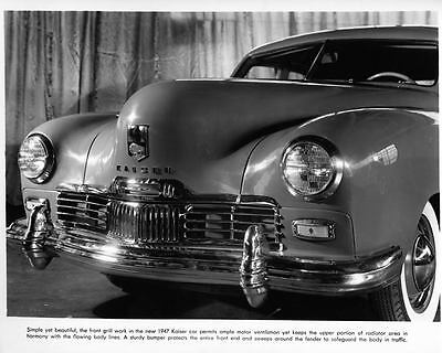 1947 Kaiser Frazer Factory Photo ad6489-QML19L