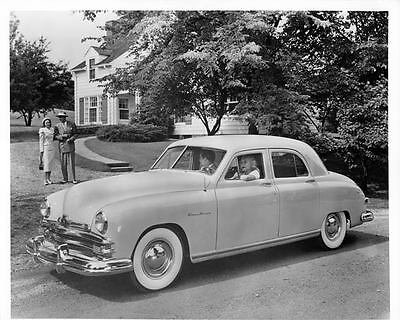 1949 Kaiser Frazer Glass Green Factory Photo ad6551-N3BVF3