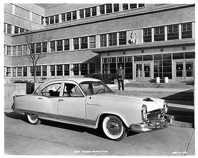 1954 Kaiser Frazer Factory Photo ad6711-9KL5L3
