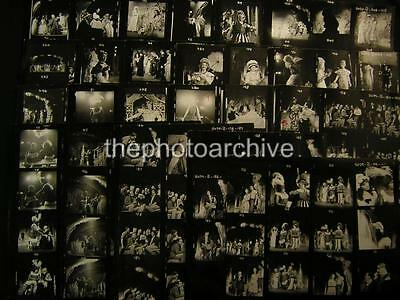 Unidentified Theatre VINTAGE 23 CONTACT SHEET LOT By Milton Greene w/Credit 401E