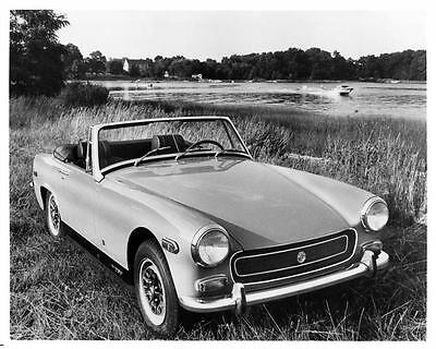 1971 MG Midget Factory Photo ad7111-94B3TU