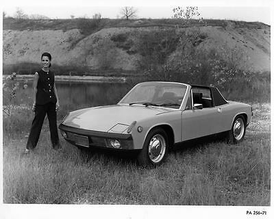 1971 Porsche 914 Factory Photo ad7127-F8HUGA