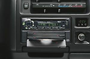 Genuine Toyota Hiace Wide 2Din Mp3 CD Tuner