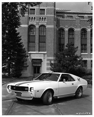 1968 AMC AMX Factory Photo ad7587-HS88BY
