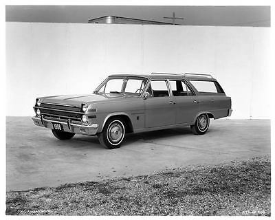 1966 AMC Ambassador Station Wagon Factory Photo ad7772-871BHR