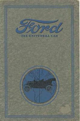 1916 1917 Ford Model T Brochure 92394-P89TIO