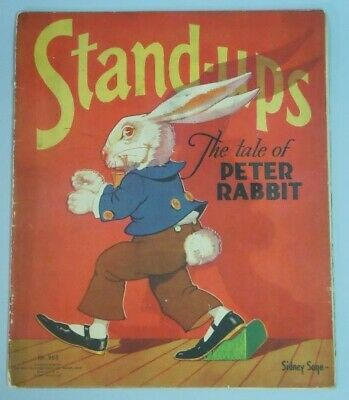 Stand-ups The Tale of Peter Rabbit - Sidney Sage 1934