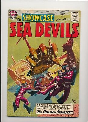 Showcase #27 (1960) Fine (6.0) ~ Sea Devils ~ Heath ~ Grey Tone Cover