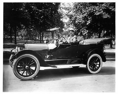 1913 Buick Factory Photo Louis Chevrolet ad8693-6THSA6