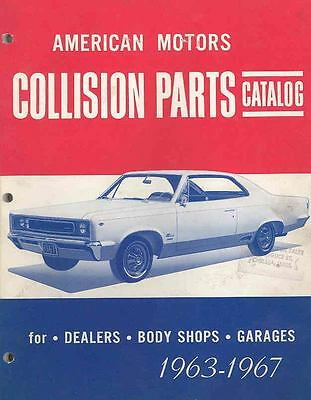1964 1965 1966 1967 American Motors Illustrated Parts Book I16-P4AEFR