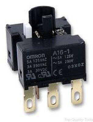 Omron Industrial Automation, A16-1, Socket, Switch, Spdt, Solder