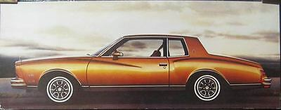 1980 Chevrolet Monte Carlo Showroom Picture Poster 152897-SDF4HW