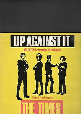 THE TIMES - up against it LP