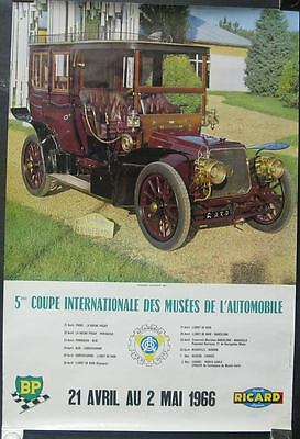 1907 Panhard Levassor Poster International Cup French 151207-U19E83