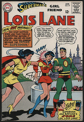 Superman's Girlfriend LOIS LANE #59, 1965, DC Comics - VG