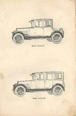 1921 Buick 21 6-46 6-47 6-48 6-49 6-50 Owners Manual om875-3A9N4T