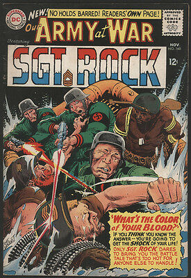 Our ARMY at WAR #160, 1965, DC Comics - VG