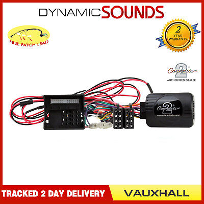 DS-VX003.2 Steering Wheel Stalk Control Interface Adaptor For Vauxhall Corsa D