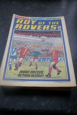 ROY OF THE ROVERS Comic May 7, 1977