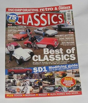 Classics August 2003 - Best Of Classics/sd1 Modifying Guide
