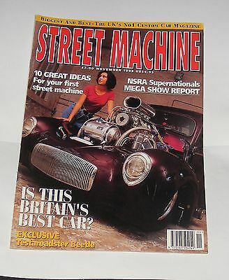 Street Machine November 1993 - Is This Britain's Best Car?