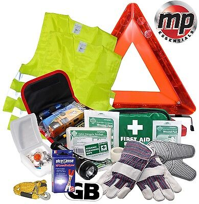 Car Safety Abroad Europe European Travel Essentials & Emergency Breakdown Kit