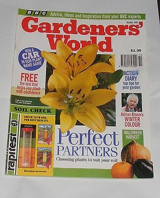 Gardeners' World October 1991 - Adrian Bloom's Winter Colour/perfect Partners