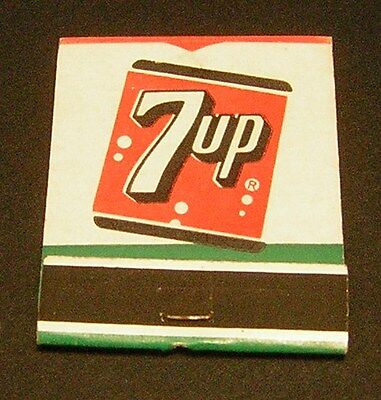 "Vintage 7up Match Pack ""Exciting Diet Drink Like"""
