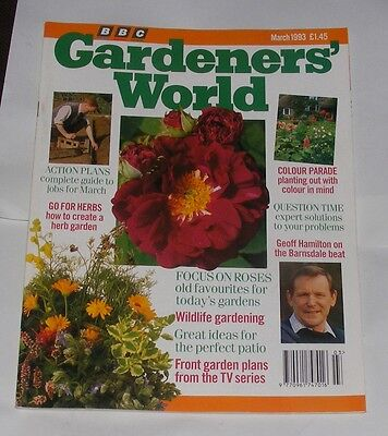 Gardeners' World March 1993 - Go For Herbs/focus On Roses/colour Parade