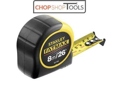 Stanley Fatmax 8m 26ft Tape Measure Blade Armor 0-33-726