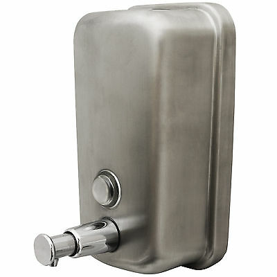 Stainless Steel Soap/shampoo Dispenser Pump Action Wall Mounted Shower/bathroom