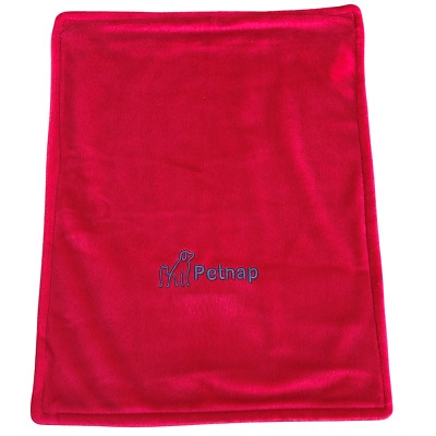 Spare red cover for Petnap vinyl cat or dog heat pad Size 82cm x 62cm