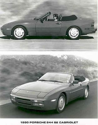 1990 Porsche 944 S2 Cabriolet Automobile Photo Poster zaa2406-KVJUT1
