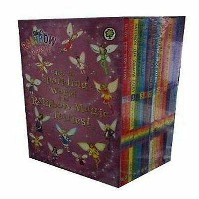 Rainbow Magic Box Set Collection 1-14 Books, Rainbow Fairies and Weather Fairies