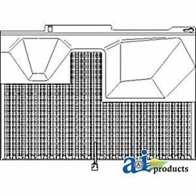 RE12880 Screen, Side (LH) Fits JD 4555 4560 4650 4755 4760 4850 4955 4960