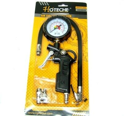 TG-3 HD Air Tire Inflator With Dial Gauge Auto Truck Bike Compressor Pistol Type