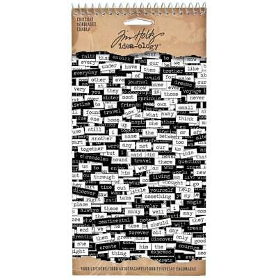 Idea-Ology Chitchat Stickers by Tim Holtz
