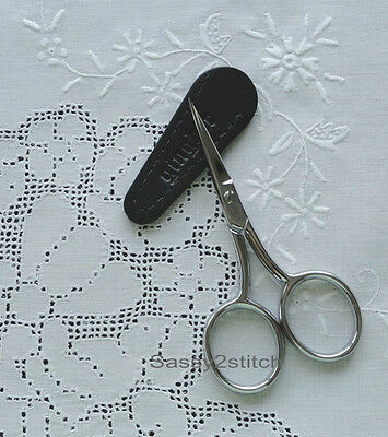 "Gingher 4"" Large Handle Embroidery Scissors, Needlework, Cross Stitch"