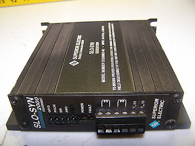 Superior Electric Slo Syn 2000 Ss2000Md7-Rc Stepper Motor Drive 24-75 Vdc 4 Amp